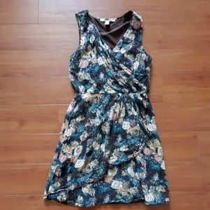 Forever 21 Floral Empire Waist Dress